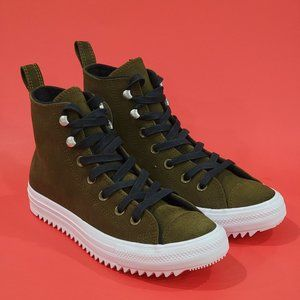 Converse CTAS Hiker Olive Winter Boots NWT